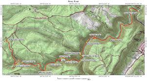 Tennessee River Map Piney River Topo And Gps Waypoints U2013 Cumberland Trails Conference
