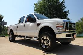 ford f250 2008 2008 ford f250 xlt lifted 4x4 diesel crew cab for sale see