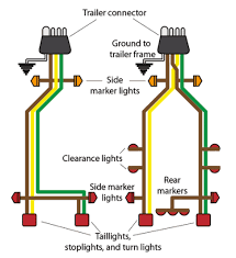car trailer board wiring build your own trailer board bicycling