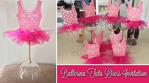 jars u0026 beyond how to make ballerina invitations diy ballerina