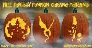www pumpkin free knights dragon and castle pumpkin carving patterns
