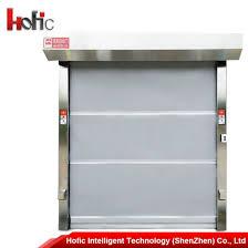 Roll Up Doors Interior China Industrial Pvc High Speed Roller Shutter Door Interior Roll