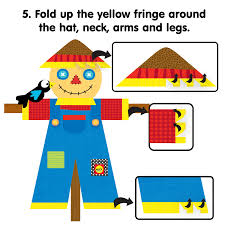 kids thanksgiving crafts make a scarecrow printable alexbrands com