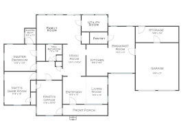 floor plan for my house brainstorming where can i put a walk in pantry