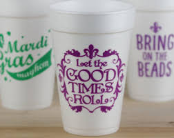 mardi gras cups reusable walled party cup mardi gras tumbler