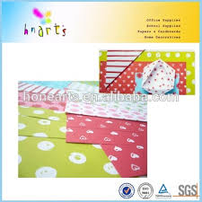printing paper board pre printed design cards two sides paper