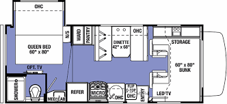 Four Winds Rv Floor Plans 2017 Forest River Forester 2291s Ford Class C Motorhome Class C