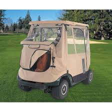 classic fairway deluxe 3 sided golf cart enclosure 122056