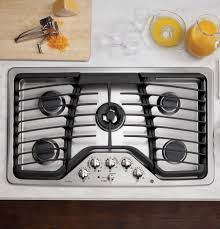Gas Cooktop Dimensions Ge Profile Series 36
