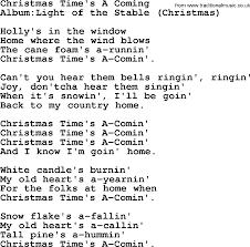 Light One Candle Lyrics Emmylou Harris Song Christmas Time U0027s A Coming Lyrics