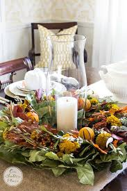 thanksgiving fall tablescape ideas on sutton place