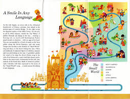 Bank Of America Maps by Small World Map From 1967 Dbm Your Independent Disney News Source