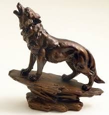 Home Sculpture Decor Wolf Sculpture Don U0027t Miss Out Check Us Out Rustic Home