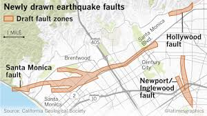 Las Vegas Neighborhood Map by Earthquake Fault Maps For Beverly Hills Santa Monica And Other