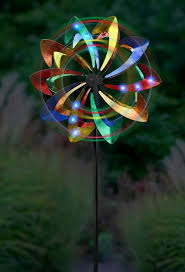 wind spinners with led lights led wind spinner yard wind spinner gardenfun