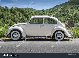 classic volkswagen cars valsesia italy may 21 2017 vintage stock photo 644790097