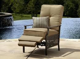 Outdoor Furniture Reviews by Breckenridge Patio Recliner Set With Side Table La Z Boy Outdoor
