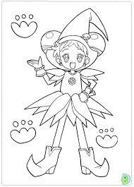 ojamajo doremi coloring pages google anime coloring