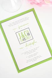 green wedding invitations lime green wedding invitations wedding invitations