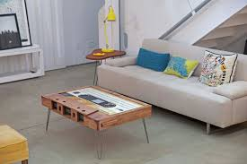 cassette tape coffee table for sale functional mixtape coffee tables colossal