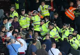 When The Biggest Annual Football Game Comes To Town Burnley U0027s Game With Hannover Abandoned After Crowd Trouble Daily
