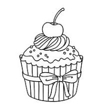 25 free printable cupcake coloring pages exercises