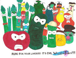 Veggie Tales Diva | veggietales a return to the salad days by g8trjrb on deviantart