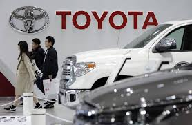 motor toyota toyota u0027s profit slides on yen u0027s strength wsj
