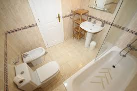 holiday apartment in marbella malaga for rental en suite bathroom with shower over full length bath