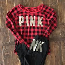 tartan vs plaid vs pink plaid christmas pajamas m mercari buy u0026 sell things you