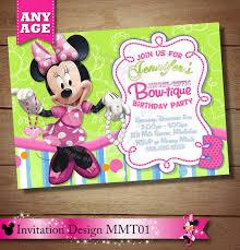 minnie mouse bowtique printable birthday invitation minnie mouse
