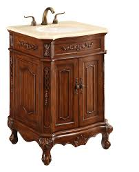 24 in single bathroom vanity set in brown vanities elegant decor