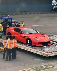 Ferrari F12 2017 - india u0027s first and only ferrari f12tdf lands in delhi motoroids
