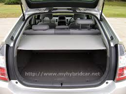 toyota prius luggage capacity images of the second generation toyota prius hybrid car