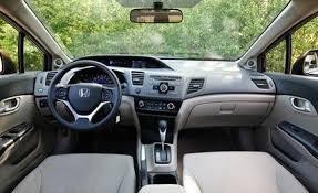 2001 honda civic ex interior 2012 honda civic ex sedan road test review car and driver