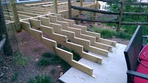 stair stringers to concrete and other stair questions
