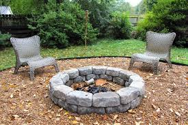 Gravel Fire Pit Area - some like a project easy for you diy fire pit