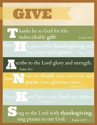 psalms about thanksgiving free printable