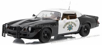 79 camaro model car greenlight 1 18 chp california highway patrol 1979 chevy camaro z
