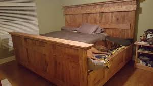 King Size Bed Handmade King Size Bed Designed To Lodge Your Furry Friends