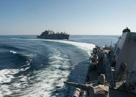 file uss dewey ddg 105 breaks away from usns charles drew after a