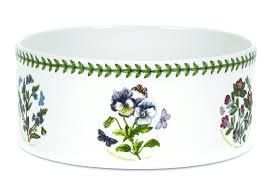 portmeirion botanic garden souffle dish floral