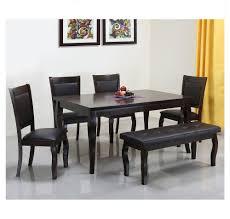 buy kaiser 1 4 bench dining kit home by nilkamal cappucino