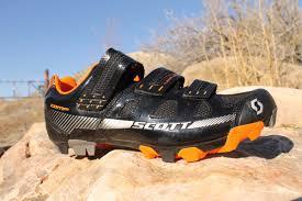 leather bike shoes scott mtb comp shoe review singletracks mountain bike news