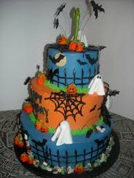 halloween themed 1st birthday cake cakecentral com