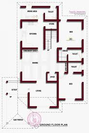 kerala floor plans slope roof low cost home design kerala and floor plans also house