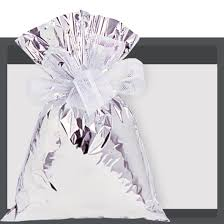 mylar wraps silver mylar bag specialty wraps supplying the gift basket