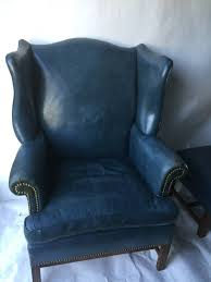 Wingback Chairs Leather Wingback Chair And Ottoman Model Measure A Wingback Chair And