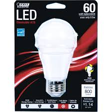 feit led light bulb 9 5 watts soft white medium base led light