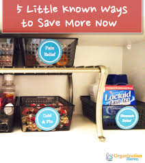 Medicine Cabinet Organizer 5 Tips To Save Money And Have An Organized Kitchen Cabinet